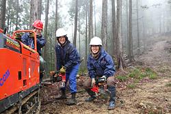 土佐の森・救援隊「林業女子」